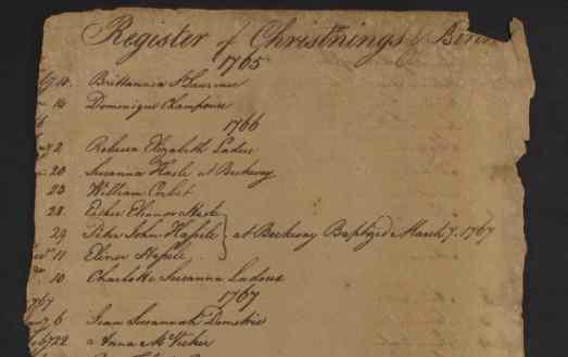 EAP1013/1/4 Register of christenings